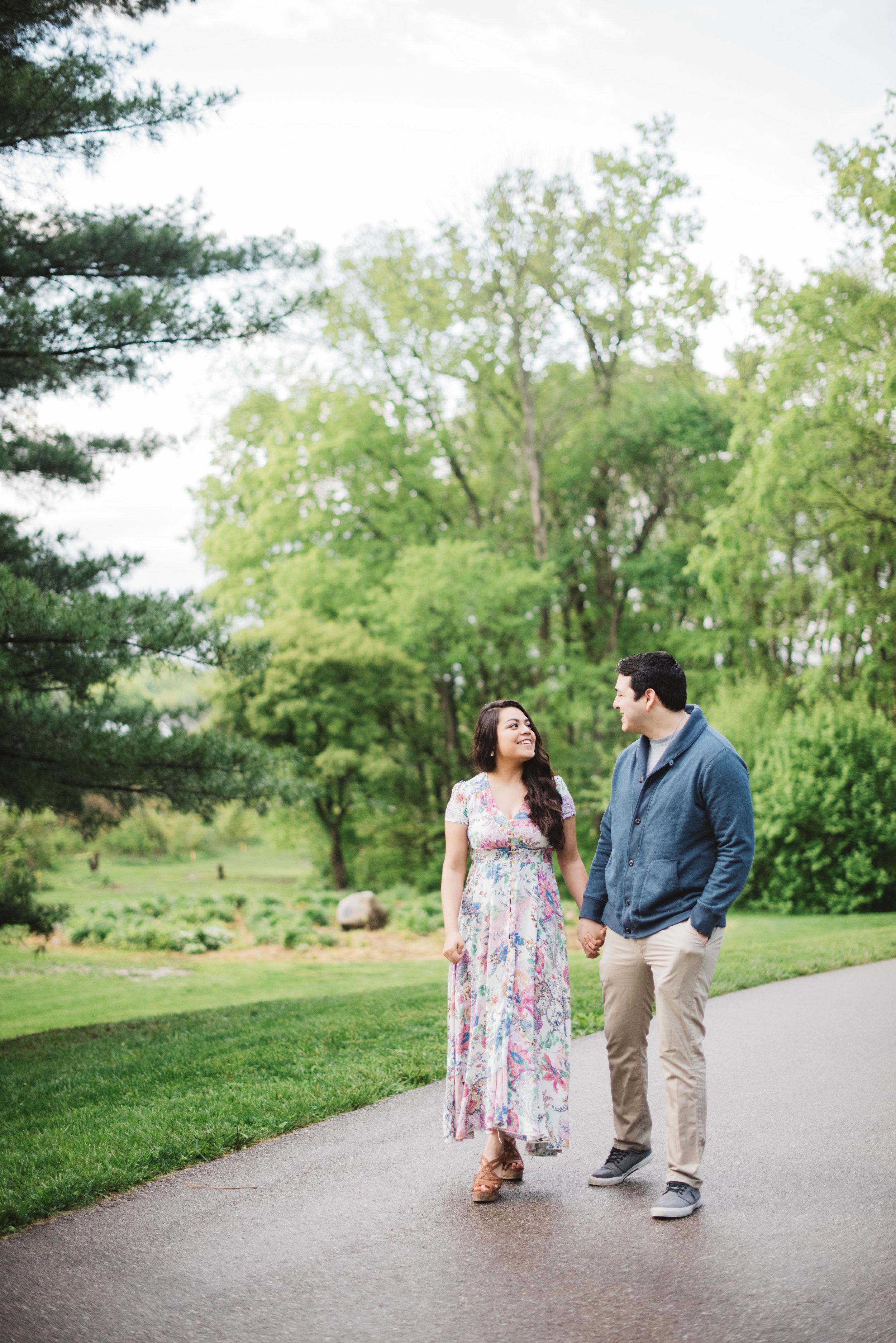 Lafayette Indiana Happy Hollow Park Engagement, Erika Aileen Photography, Erika Aileen, Sunrise Engagement Session