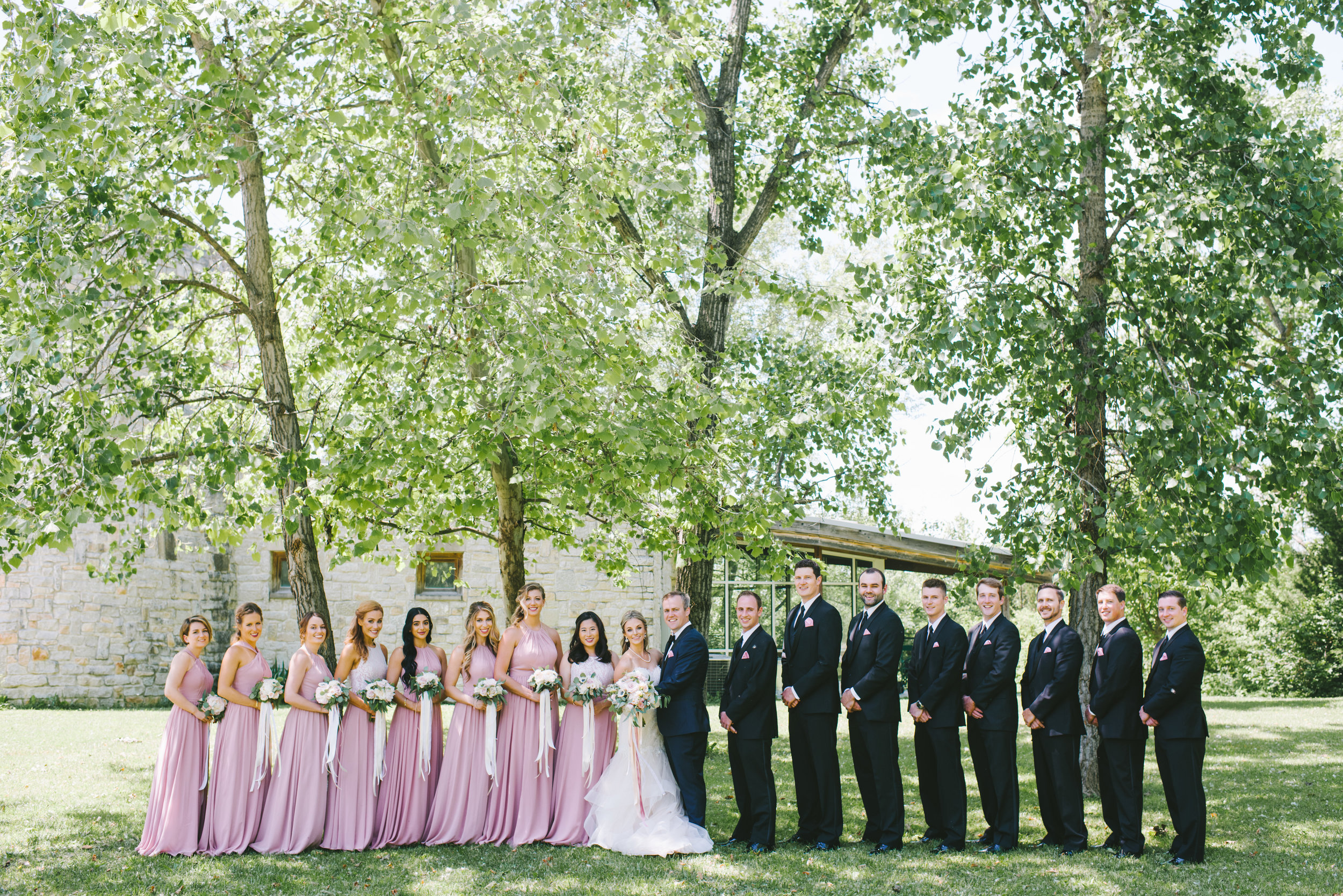Elegant and Chic Blush DePauw University Wedding by Erika Aileen Photography Lafayette Indiana Wedding Photographer