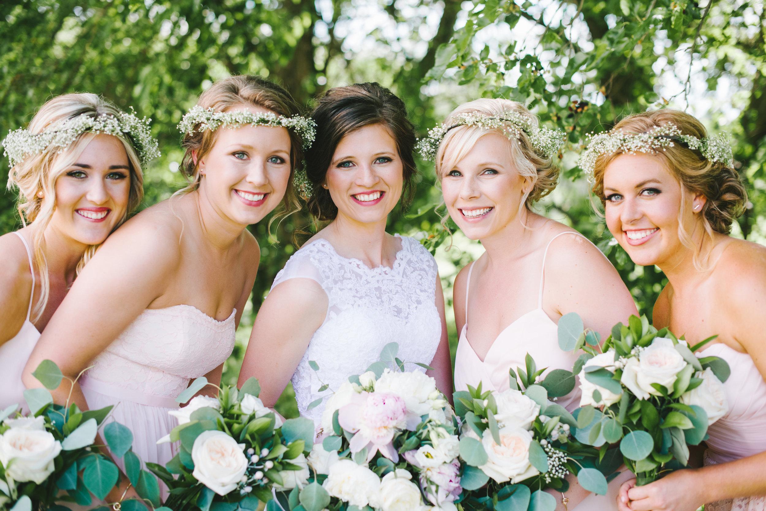 Sandy Pines Wedding Demotte Indiana Erika Aileen Photography