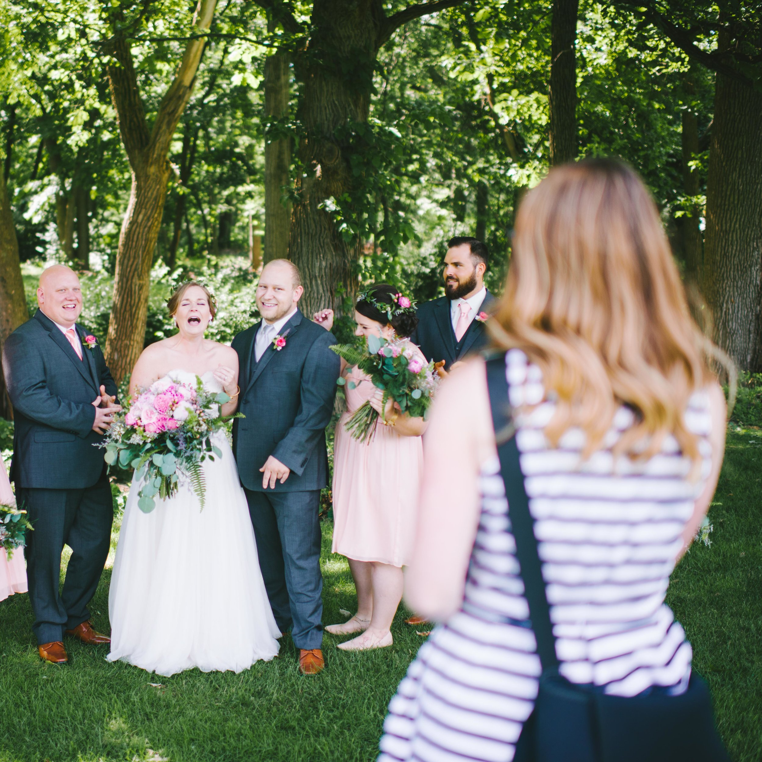 How I Became a Wedding Photographer Erika Aileen Photography Indianapolis Wedding Photographer