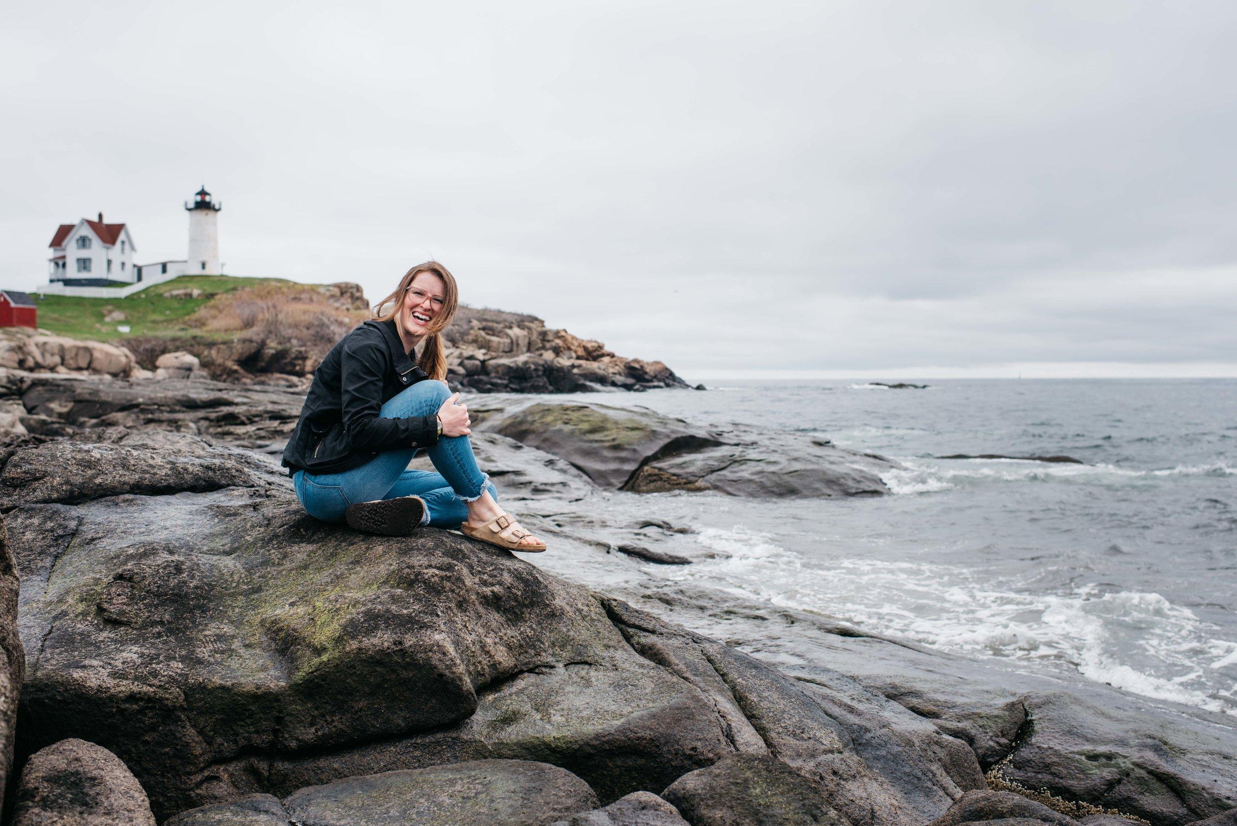 Erika Aileen Maine Wedding Photographer Nubble Point