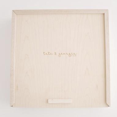 "Maple Wood Box +$150 (8"") +$175 (10"")  +$200 (12"")"
