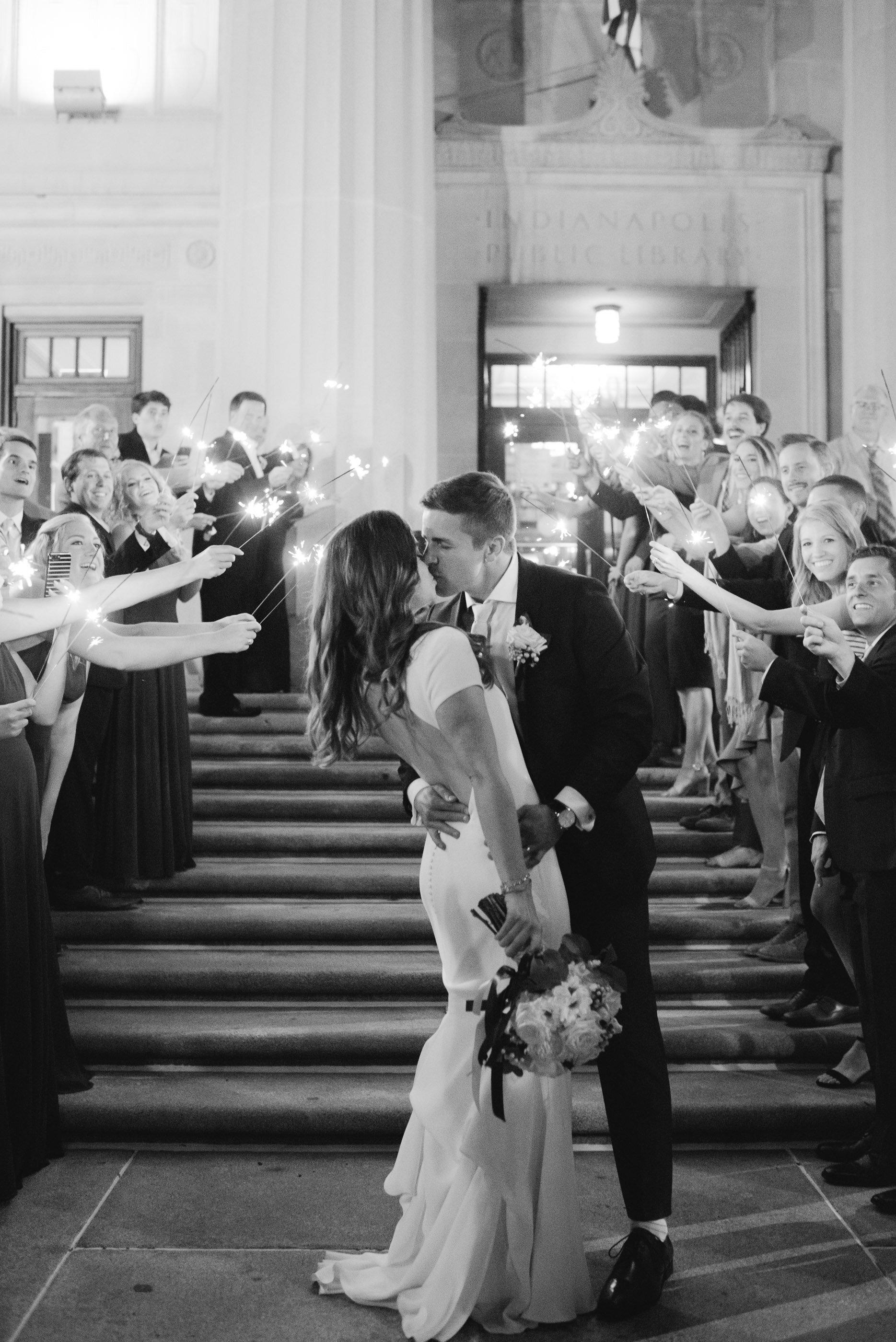 Indianapolis Central Library Wedding Erika Aileen Photography Indianapolis Wedding Photographer