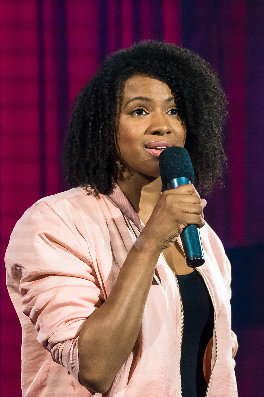 Aisha Brown - Aisha Brown is known as one of the top 3 Aisha's in North American stand-up comedy. She has made multiple appearances Montreal's renowned Just For Laughs festival taping two All Access televised sets for the Comedy Network, and as a featured performer for Kevin Hart's LOL Network. She has also performed at Montreal Sketchfest, the Field Trip Festival, the Guelph Comedy Festival and the Kitchener Waterloo Comedy Festival. Aisha has written for CBC Comedy, Baroness Von Sketch, Just For Laughs, and has been featured multiple times on CBC Radio's The Debaters and Because News. She has also written for and has been featured on The Beaverton on the Comedy Network, and will be taping her first comedy special this summer for CraveTV.
