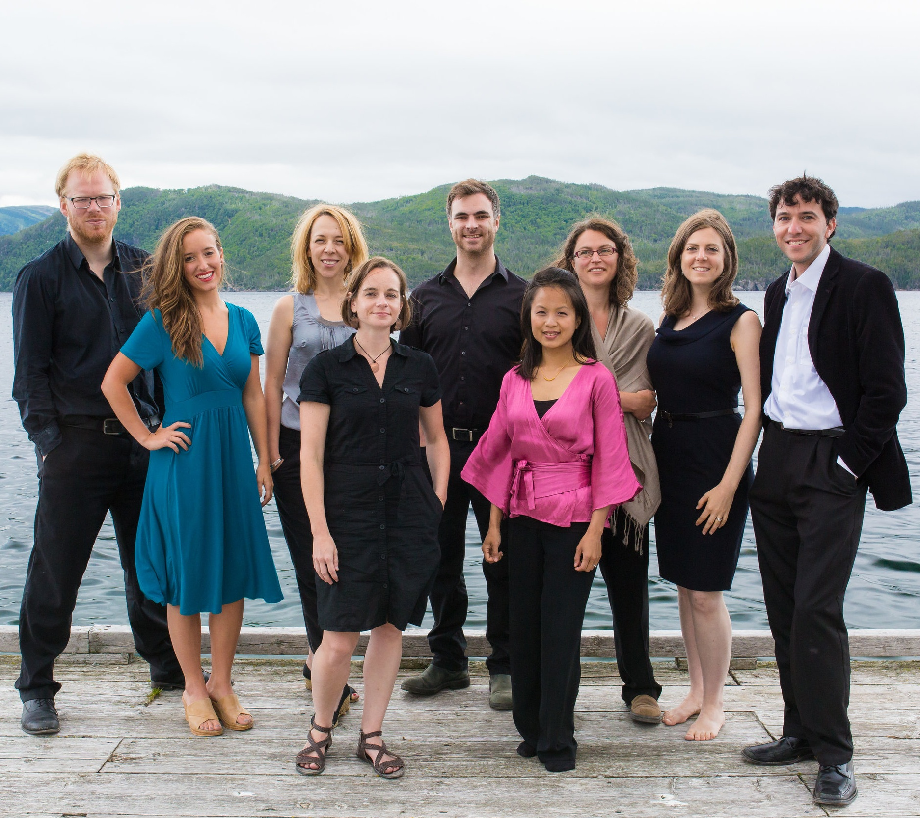 Gros Morne Summer Music - The musicians who make up Gros Morne Summer Music have been part of our program for years, and their scope and repertoire continue to grow. We are delighted once again to welcome back David Maggs and Diederik van Dijk and their talented ensemble of classical musicians for what promises to be another outstanding performance at the Woody Point Heritage Theatre and St. Patrick's Church.This year, GMSM presents, Dark by Five:Founded in 2012, Dark by Five is the ensemble-in-residence at Canada's Gros Morne Summer Music Festival in Newfoundland and Labrador. Through their creative residencies, the members of Dark by Five converge to explore and expand the boundaries of musical presentation by creating compelling and thought-provoking original productions that weave together the worlds of classical, contemporary, and popular music; theatre, dance, literature, poetry, visual art, and visual media.Among Dark by Five's original creations are Trolley Car, a chamber opera by Canadian composer Jason Nett; Revolution, a musical presentation on David Ives' Variations on the Death of Trotsky; and Beyond Words, a multi-disciplinary stage collaboration with Canadian poet, Don McKay.As a musical ensemble, Dark by Five also re-imagines iconic symphonic works turning them into innovative arrangements for chamber ensemble. Among Dark by Five's repertoire are Copland Appalachian Spring, Shostakovich Symphony No. 10, Berlioz Symphonie Fantastique, and Respighi Pines of Rome.