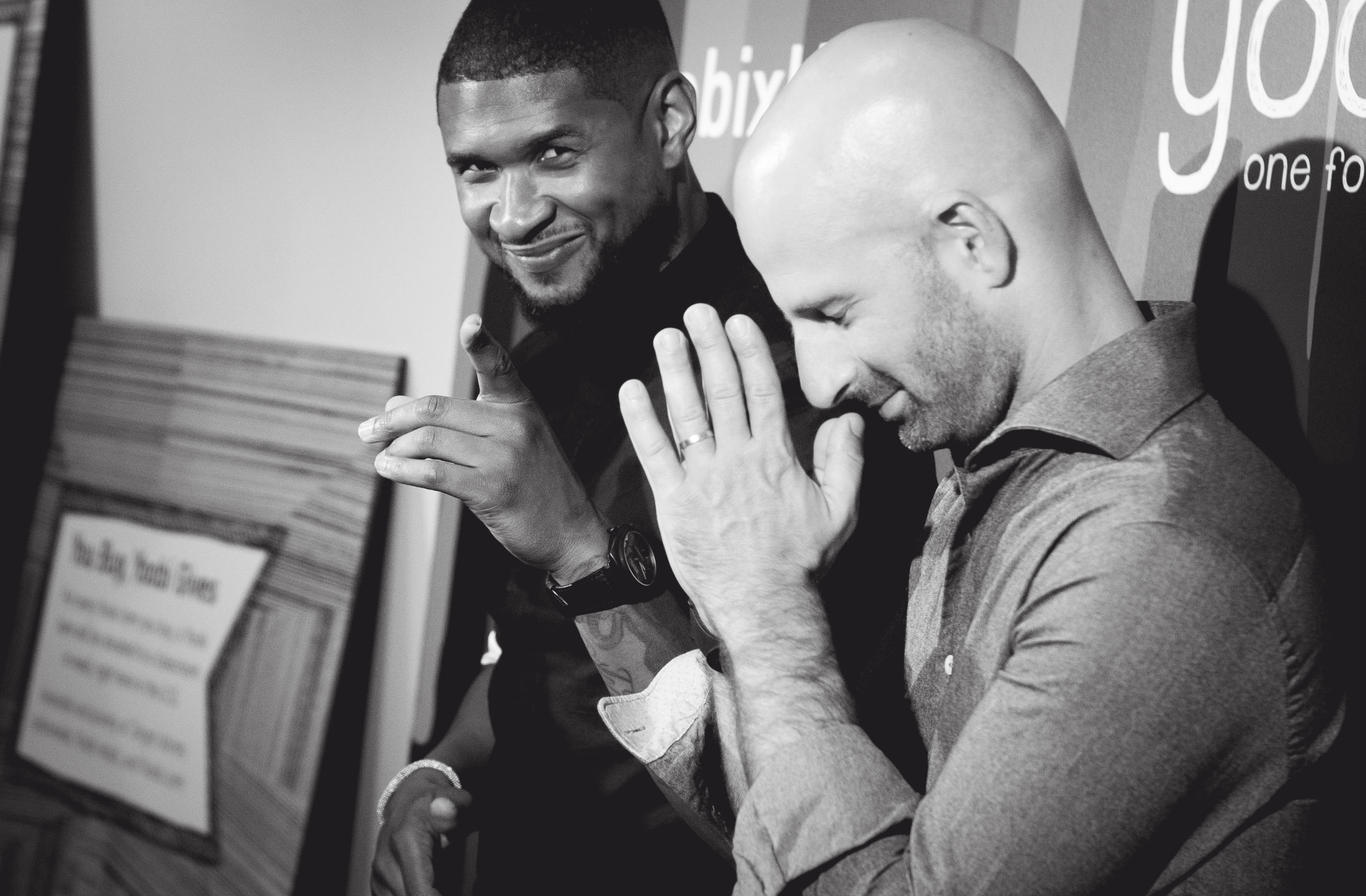 Usher and Ido Lefflar