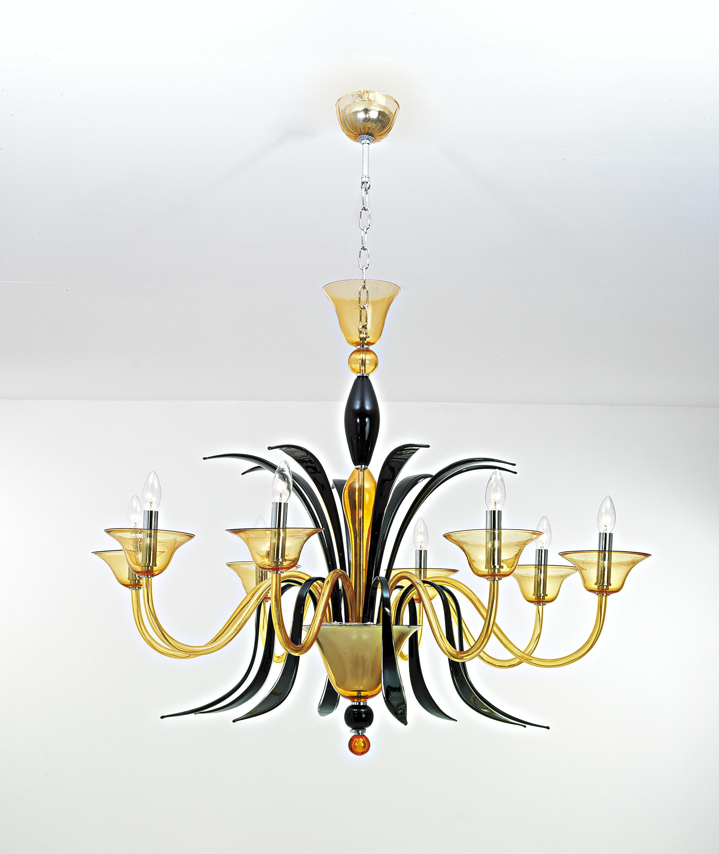 murano glass lighting michigan