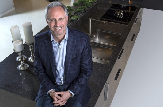 Rob Nusbaum, president and CEO of EuroAmerica Design in Troy, shares why he created a 15,000-foot showroom, the latest kitchen trends and his favorite spots in Italy.
