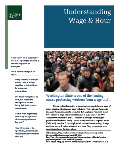 Wage & Hour