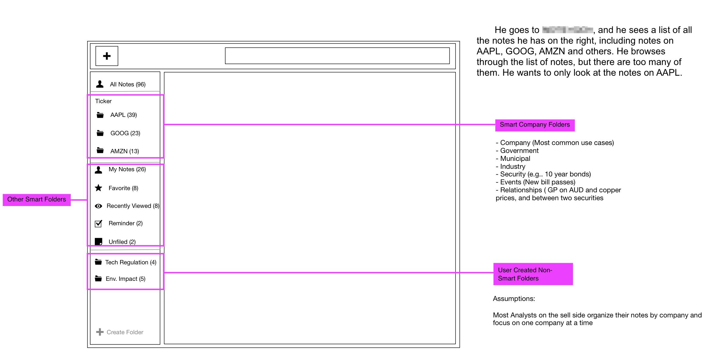 Mid-fidelity Mockup for a Design Crit