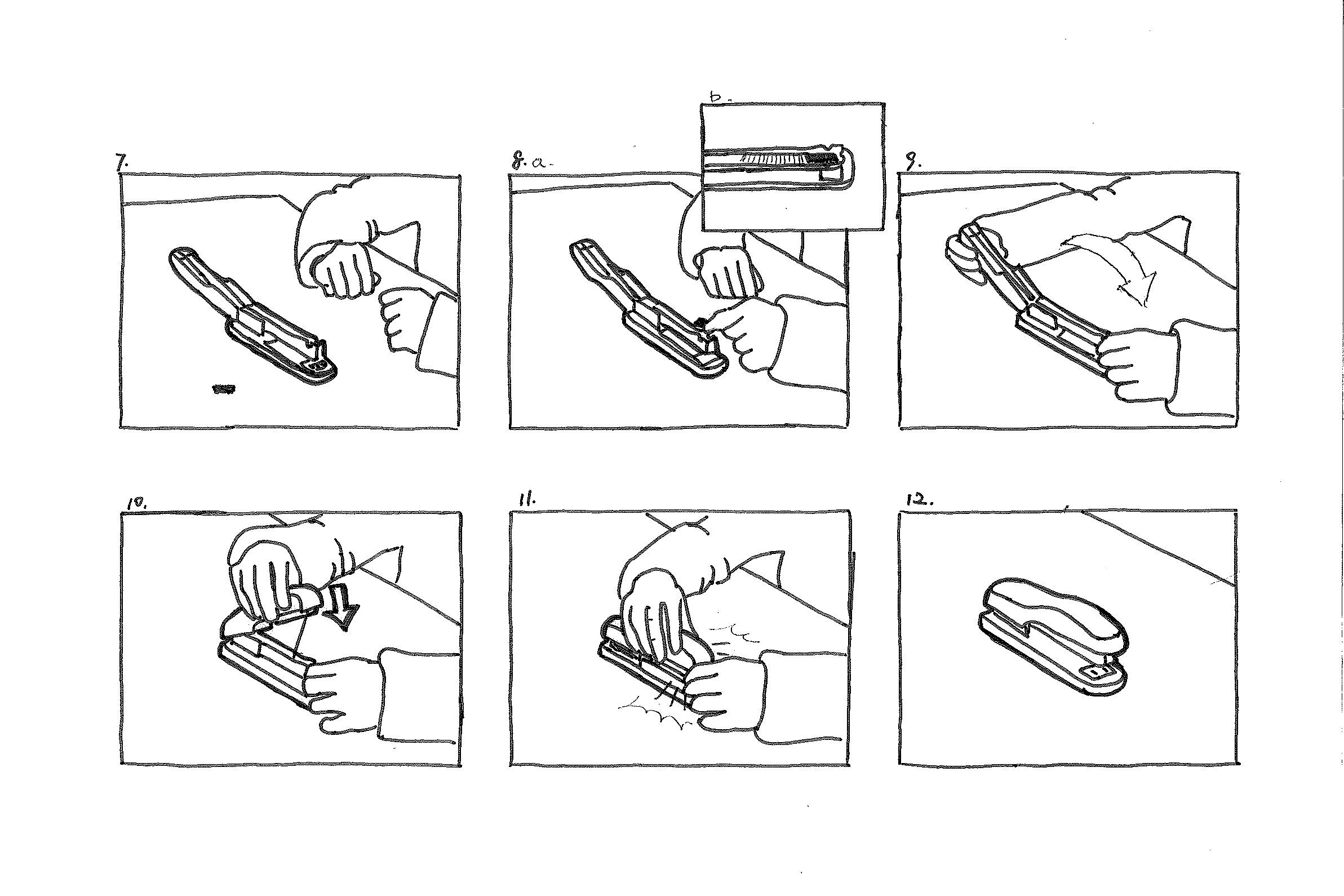 Storyboard: how to refill a stapler 2