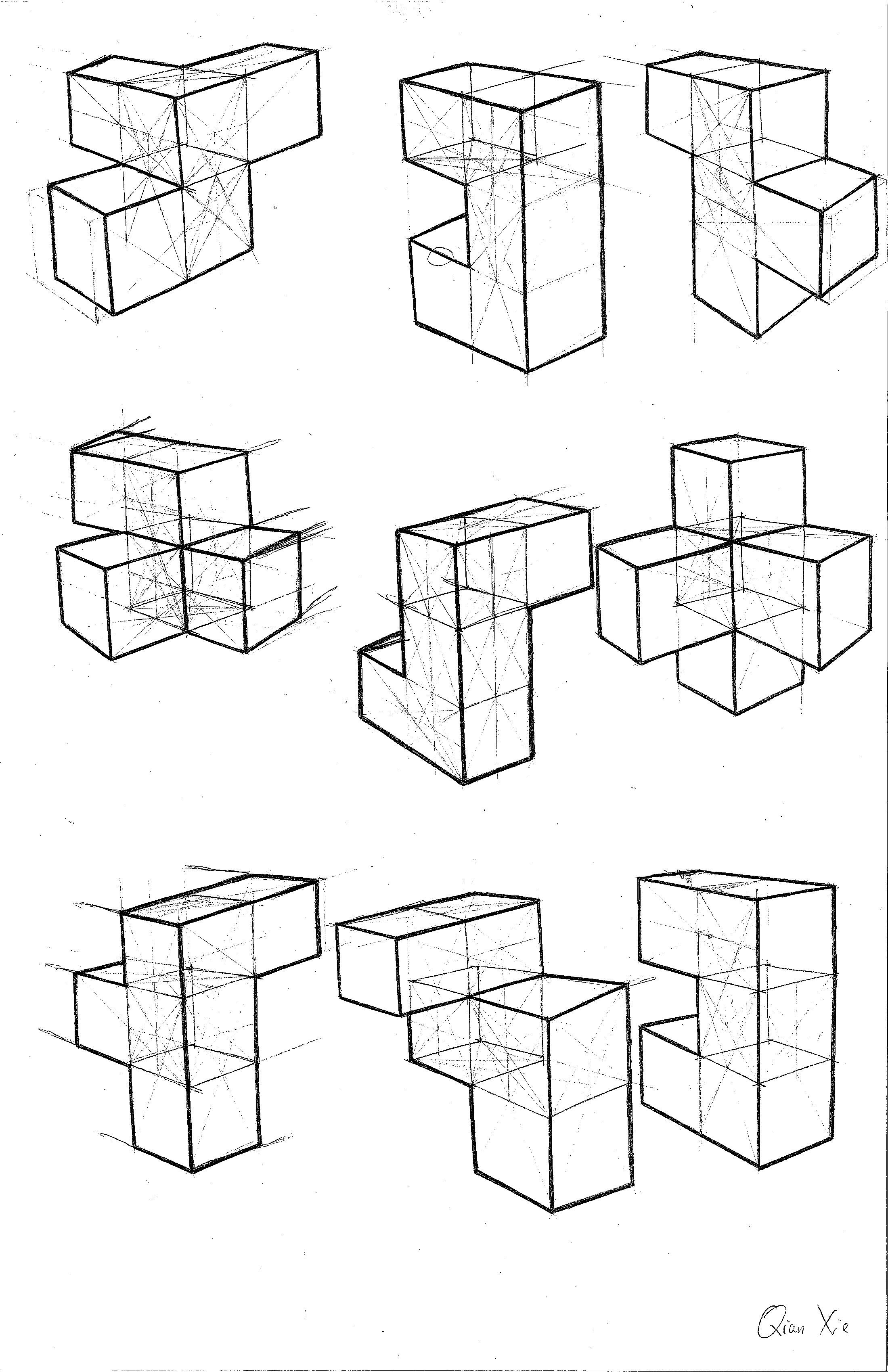 Cube study