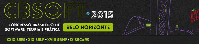 (Congresso Brasileiro de Software, Belo Horizonte, MG, 21 a 25 de setembro de 2015)