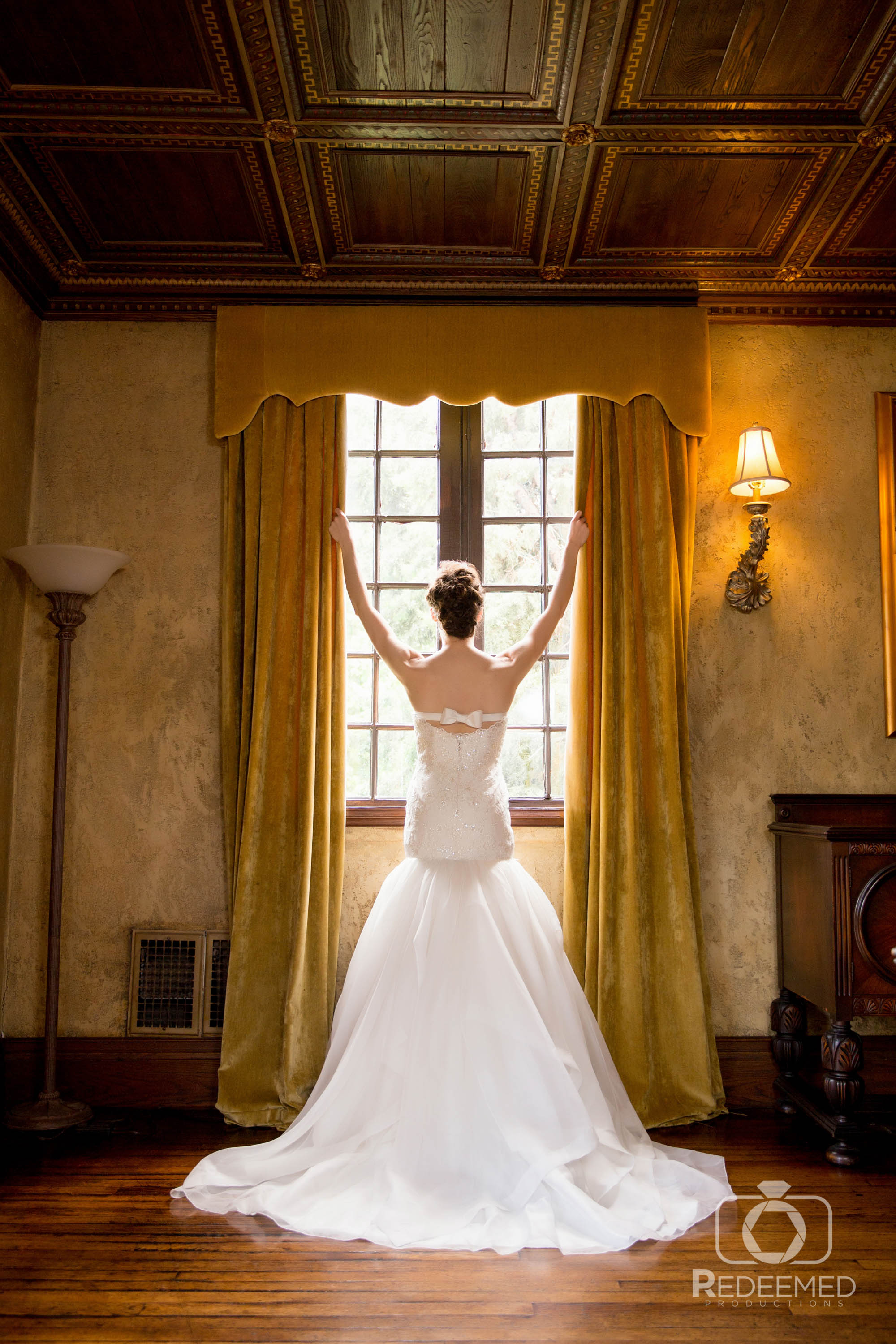 Bridal Couture by Sonni Custom wedding dress at dresser mansion