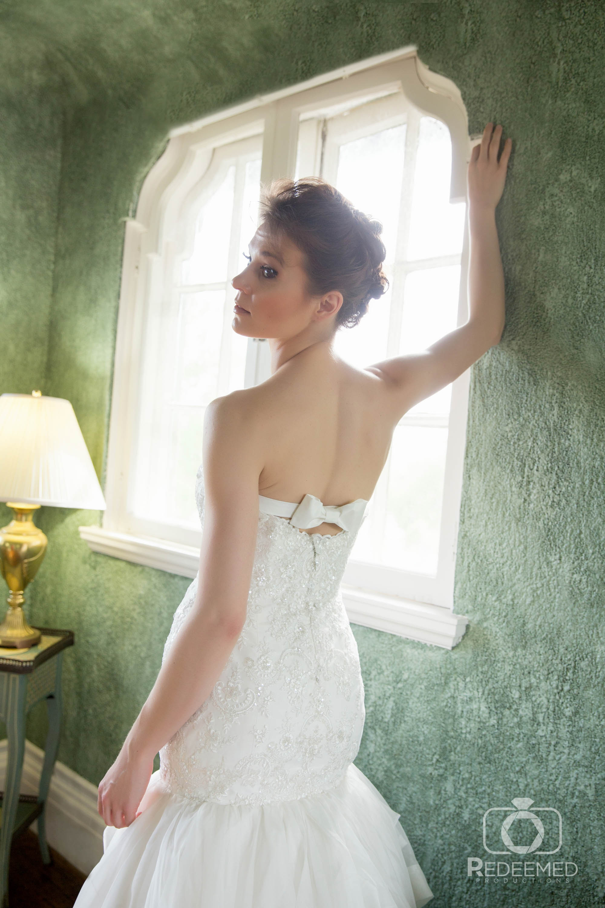 Bridal Couture by Sonni Custom Dress with bow