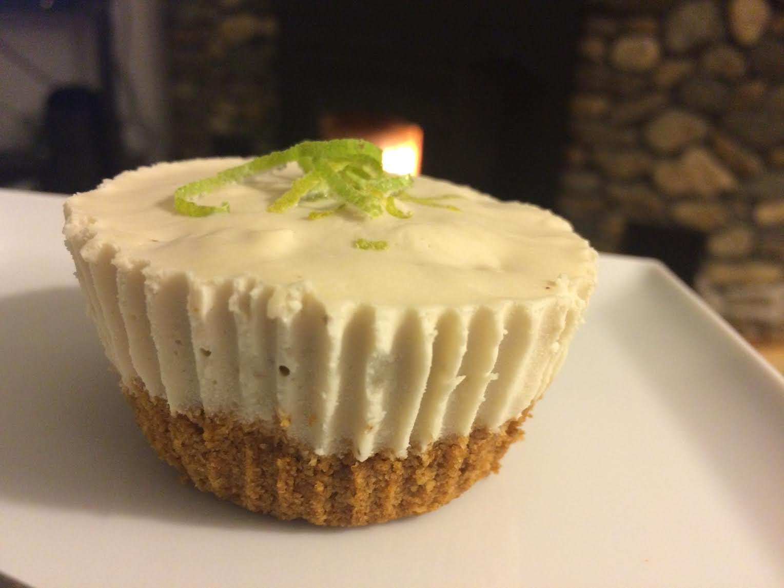 Key Lime Cupcakes with Homemade Graham Cracker Crust