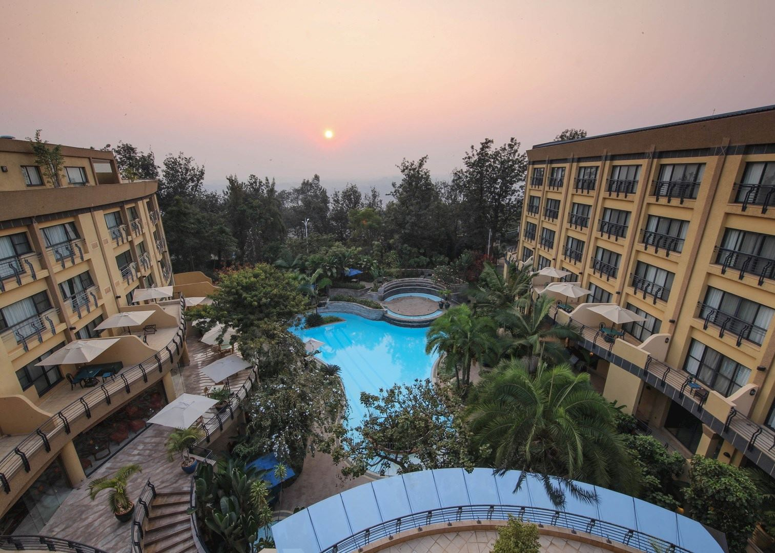 Photo: Kigali Serena Hotel, courtesy of Kigali Serena Hotel