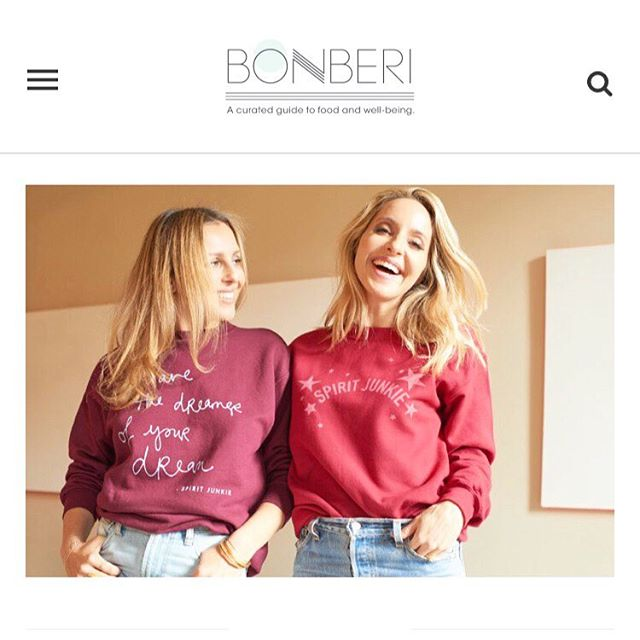 We had so much fun with @bonberi chatting about the Universe has your Back deck, our recent apparel collab, and the friendship where it all began...❤️read more on bonberi.com ✨