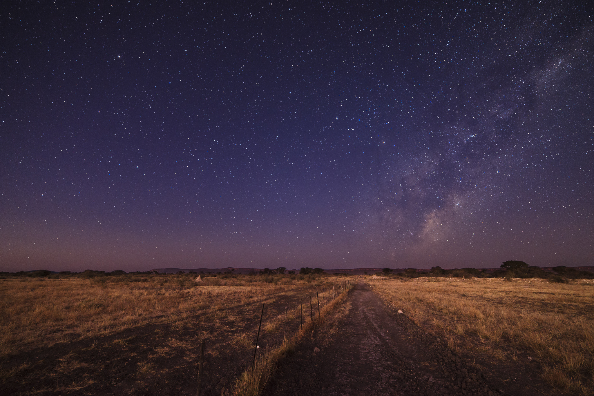 Milky Way Cattle Fence