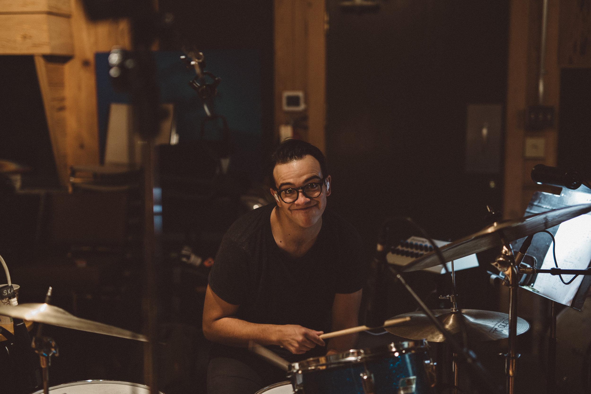 Mikaela Hamilton- Matt Wright in studio-6.jpg