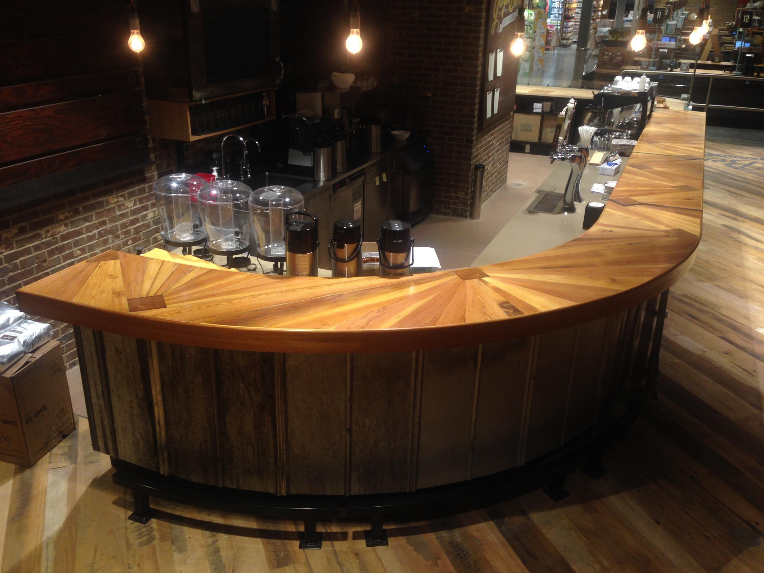 """""""Mississippi Delta"""" bar top design"""