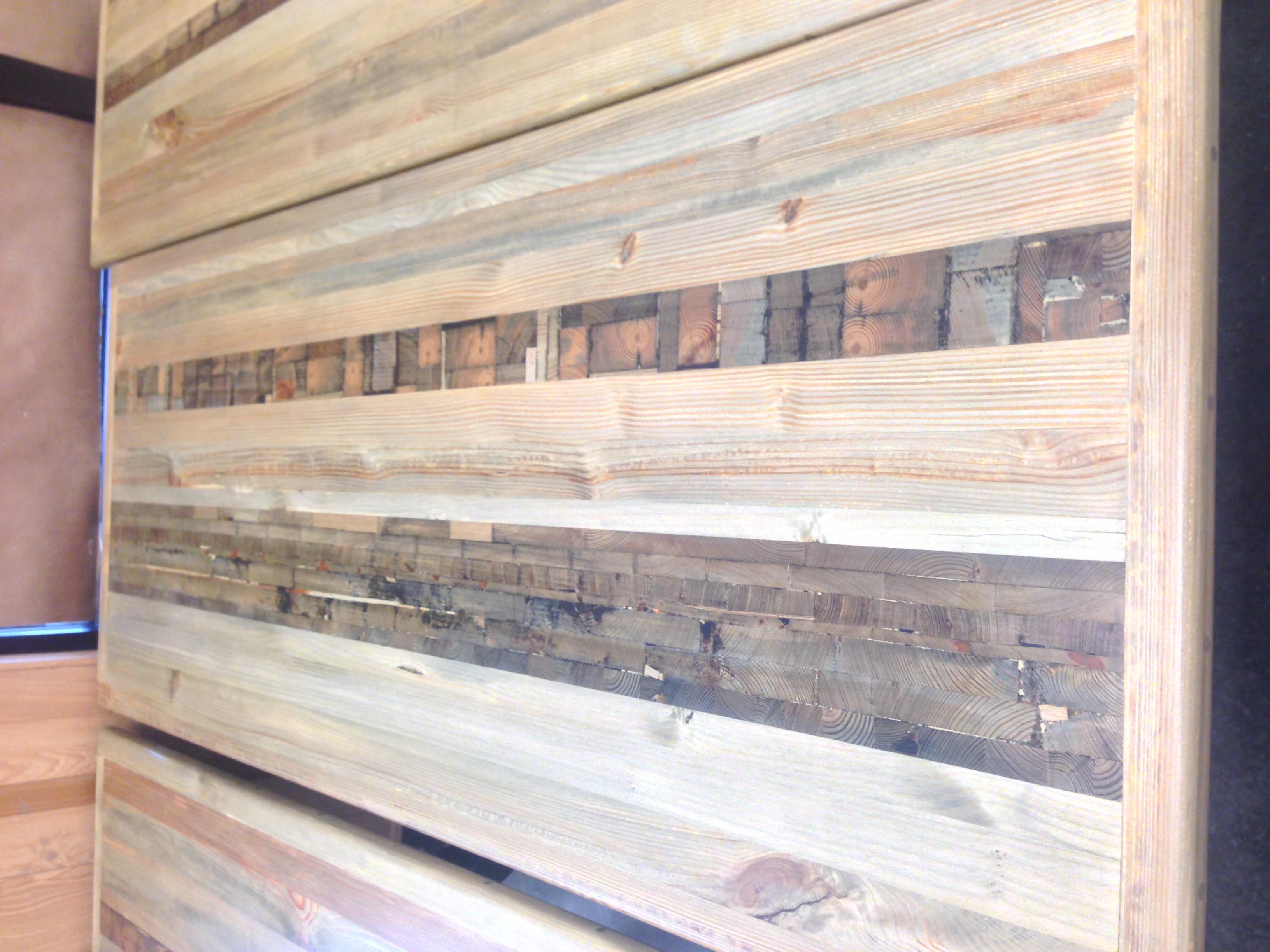 """Driftwood Mosaic"" six-top table"