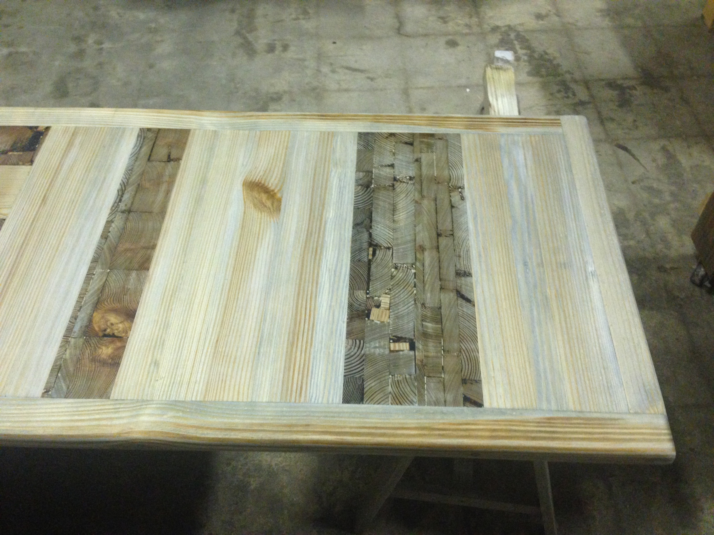 """Driftwood Mosaic"" counter top"