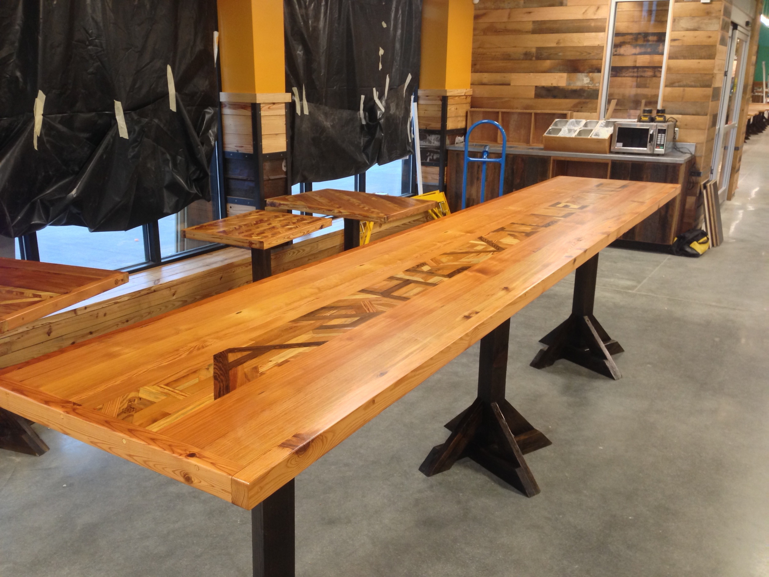 "Asheville ""Tall Boy"" table"