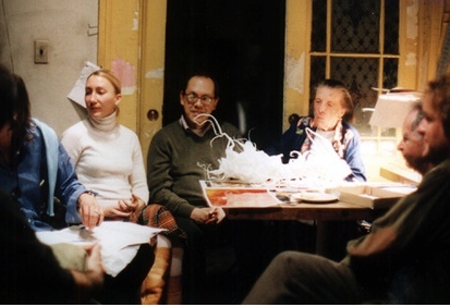 "Attending Louise Bourgeois' ""Sunday Salons"" 1999, NYC"