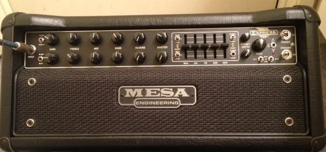 My main amp is the Mesa 5:25 Express +. The number of sounds from this amp is incredible. The best part is that it is light, and I can attenuate it down to 5 Watts for at home playing. Don't be mistaken, 5 Watts for a tube amp is insanely loud!