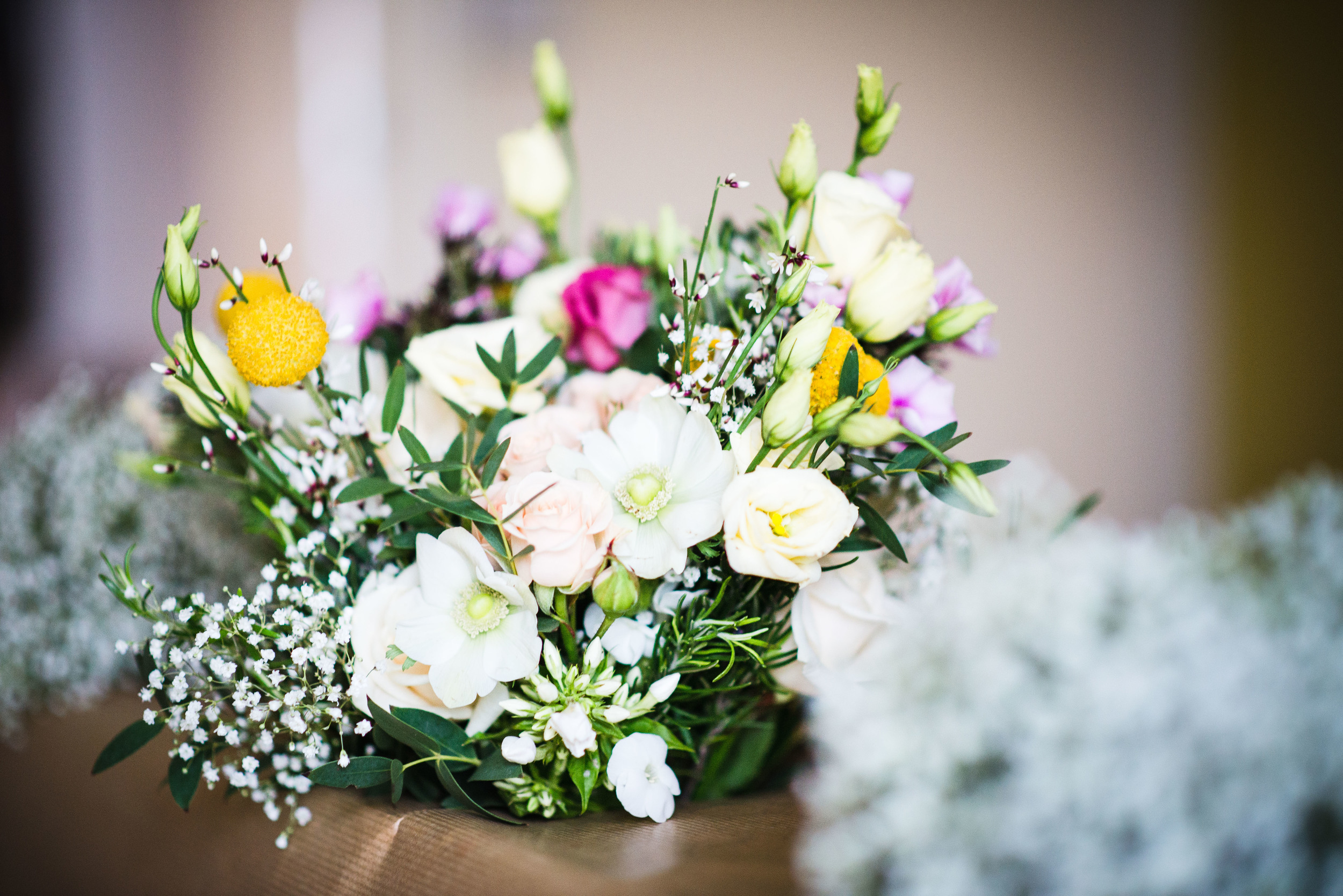 wedding flowers ready for ufton court