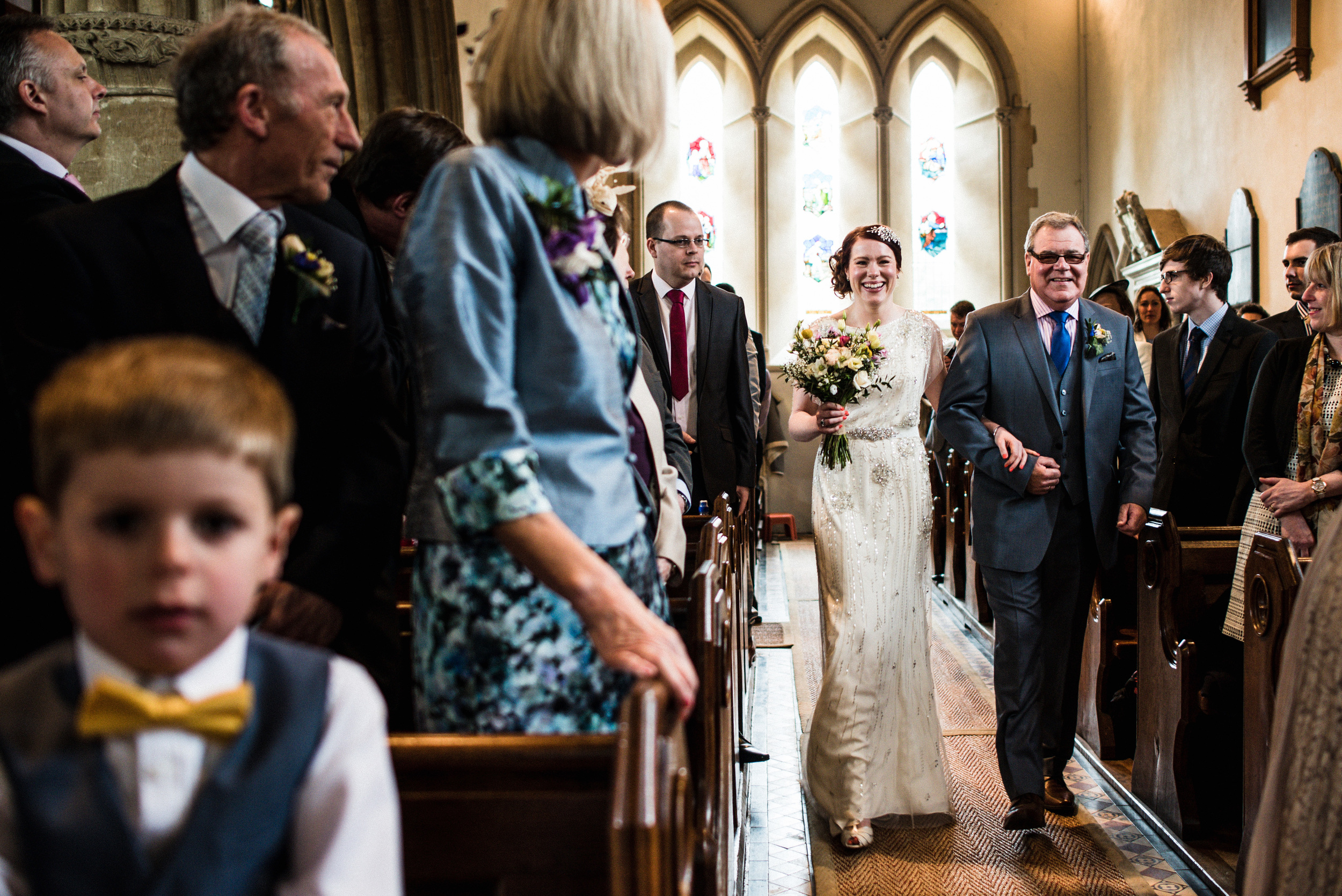 down the aisle, st marks englefield
