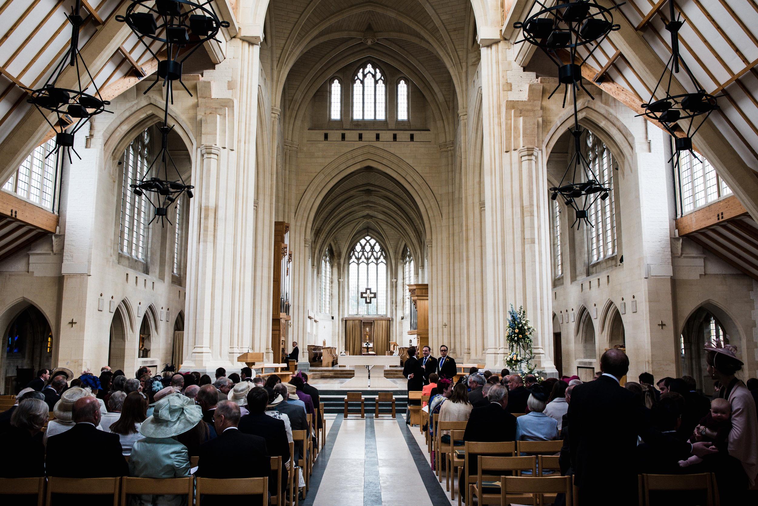 douai abbey wedding