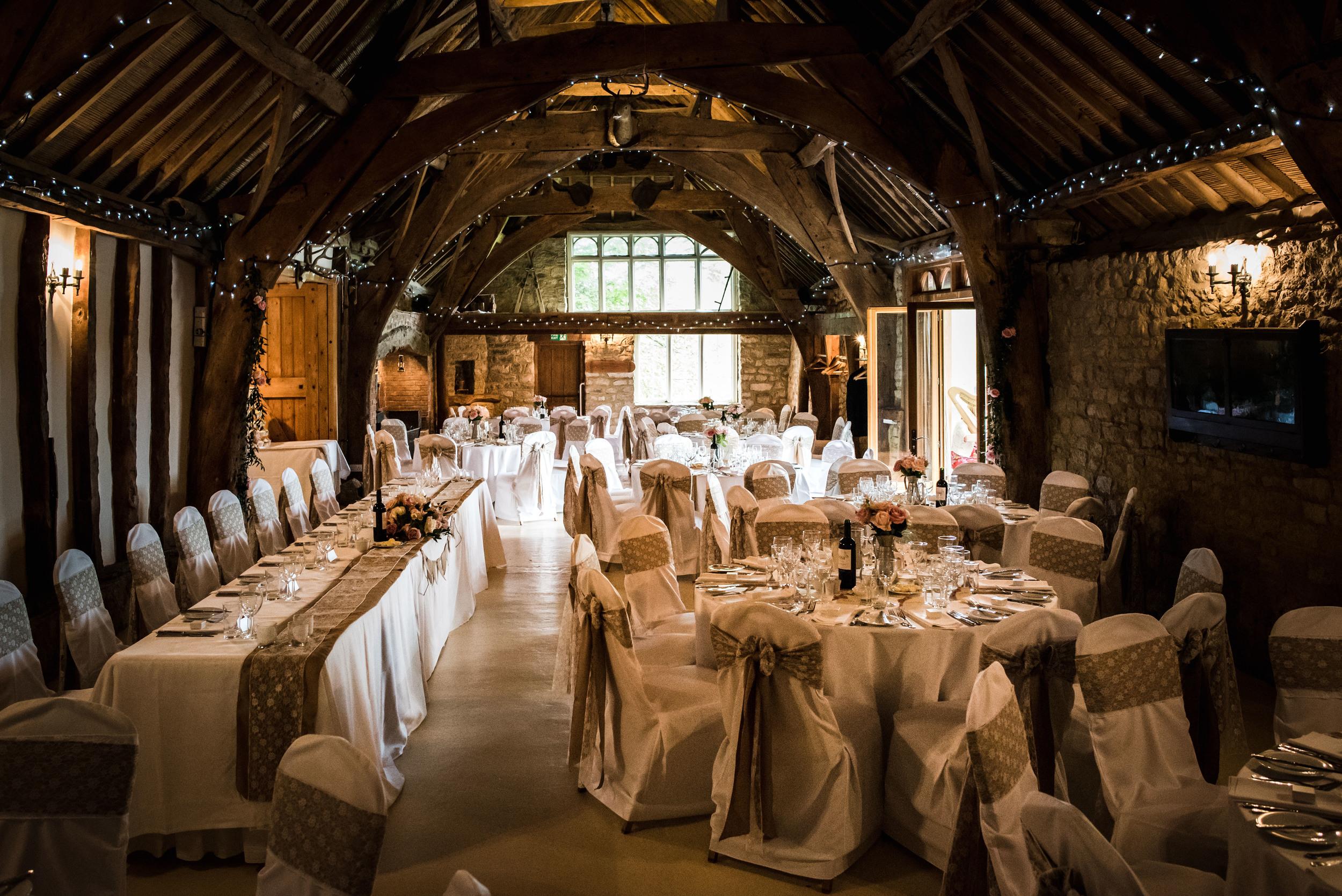 British Barn Wedding