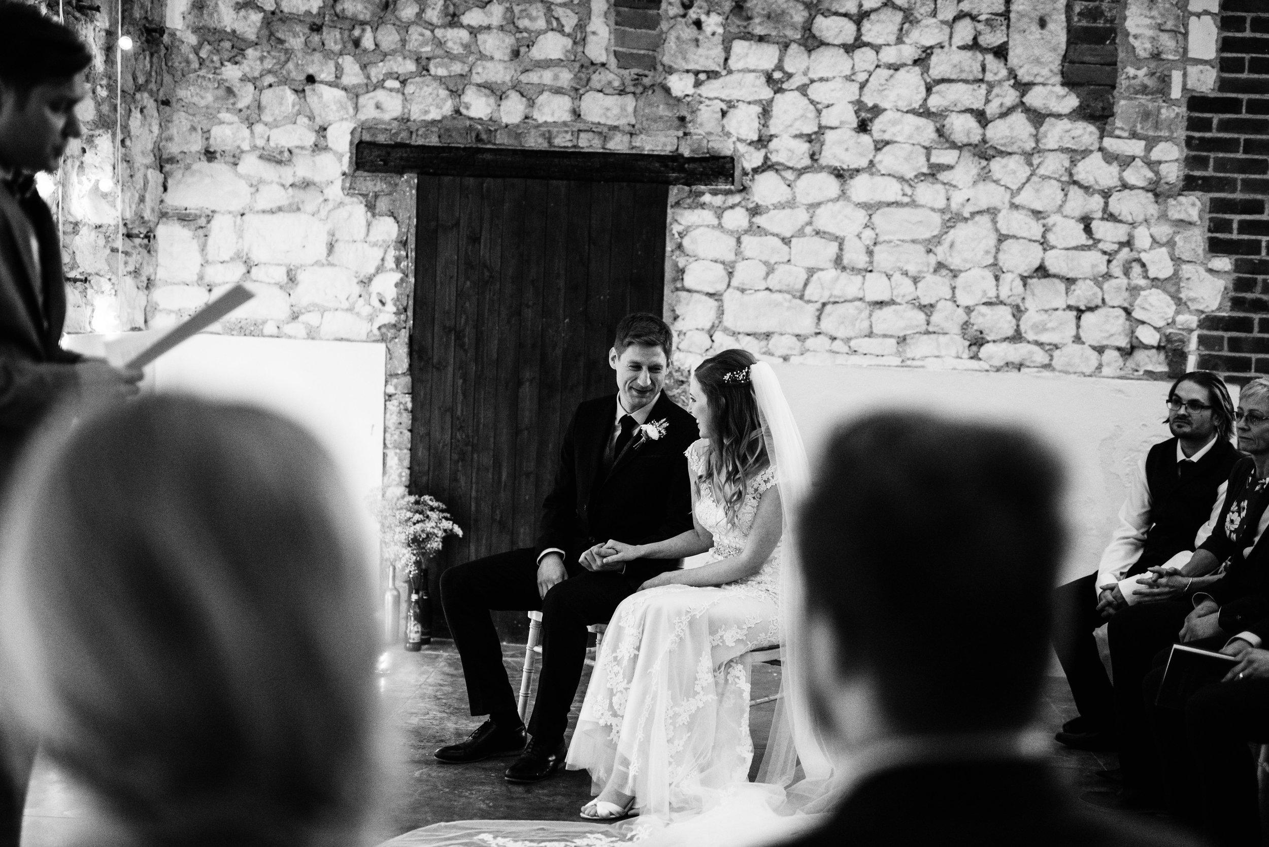 Monks Barn wedding Photography
