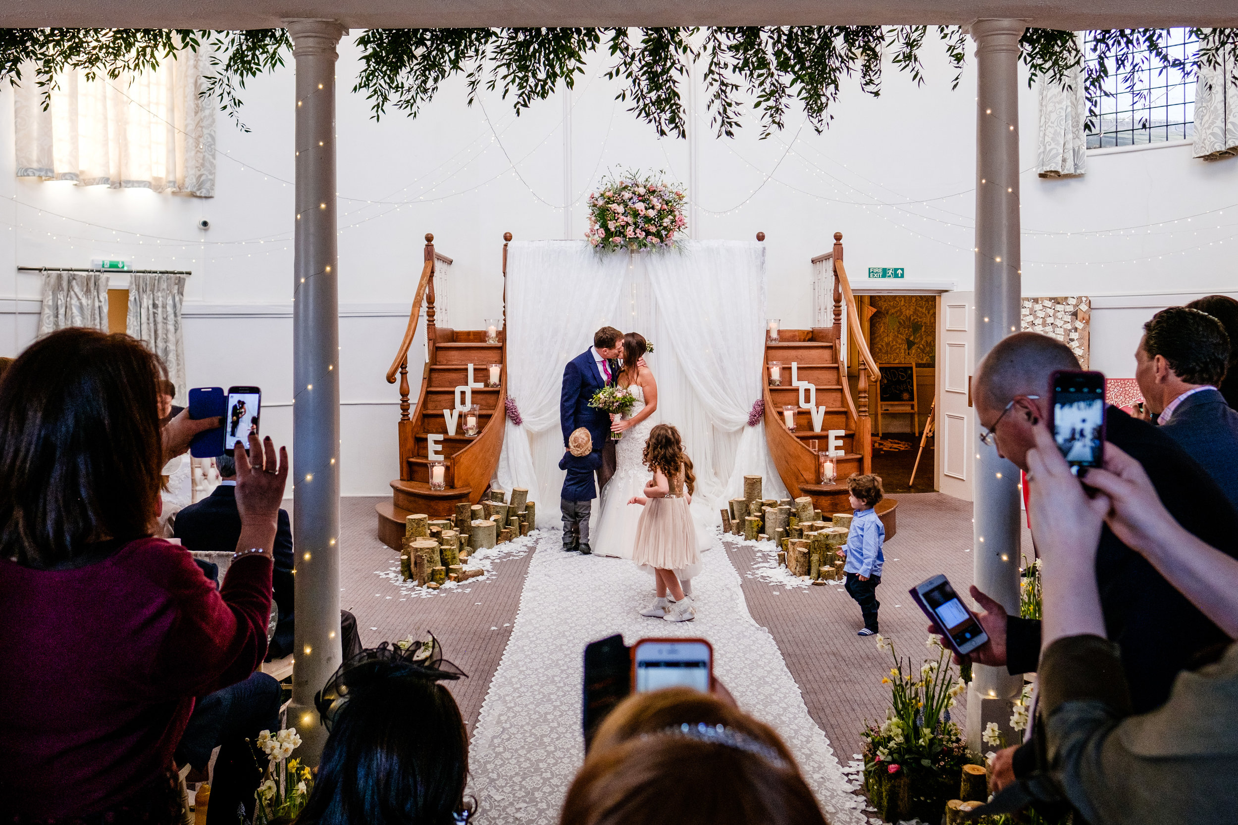 Kings Chapel Wedding Photography - Clare & Rick-124.jpg