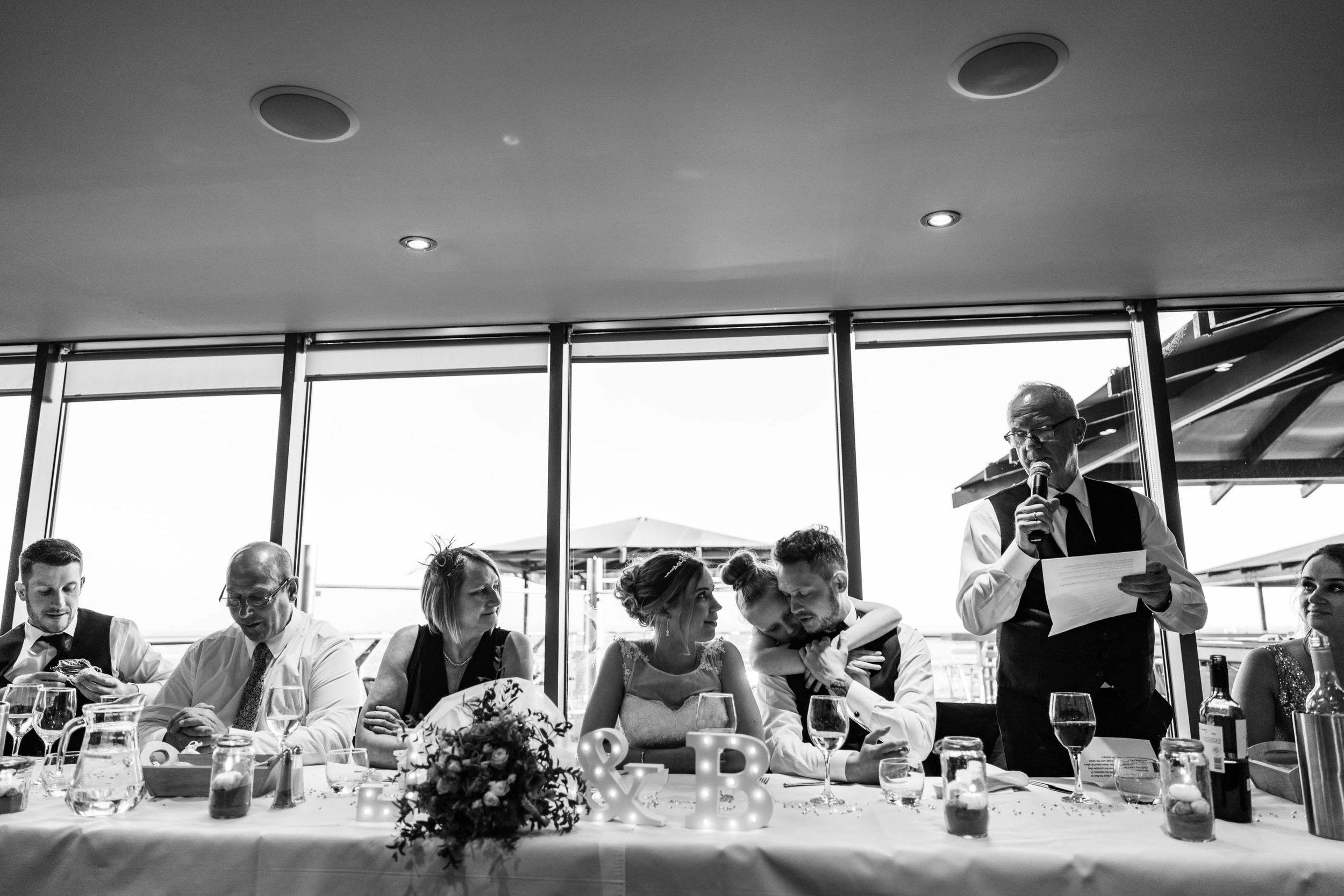 Wedding speeches - Sea View