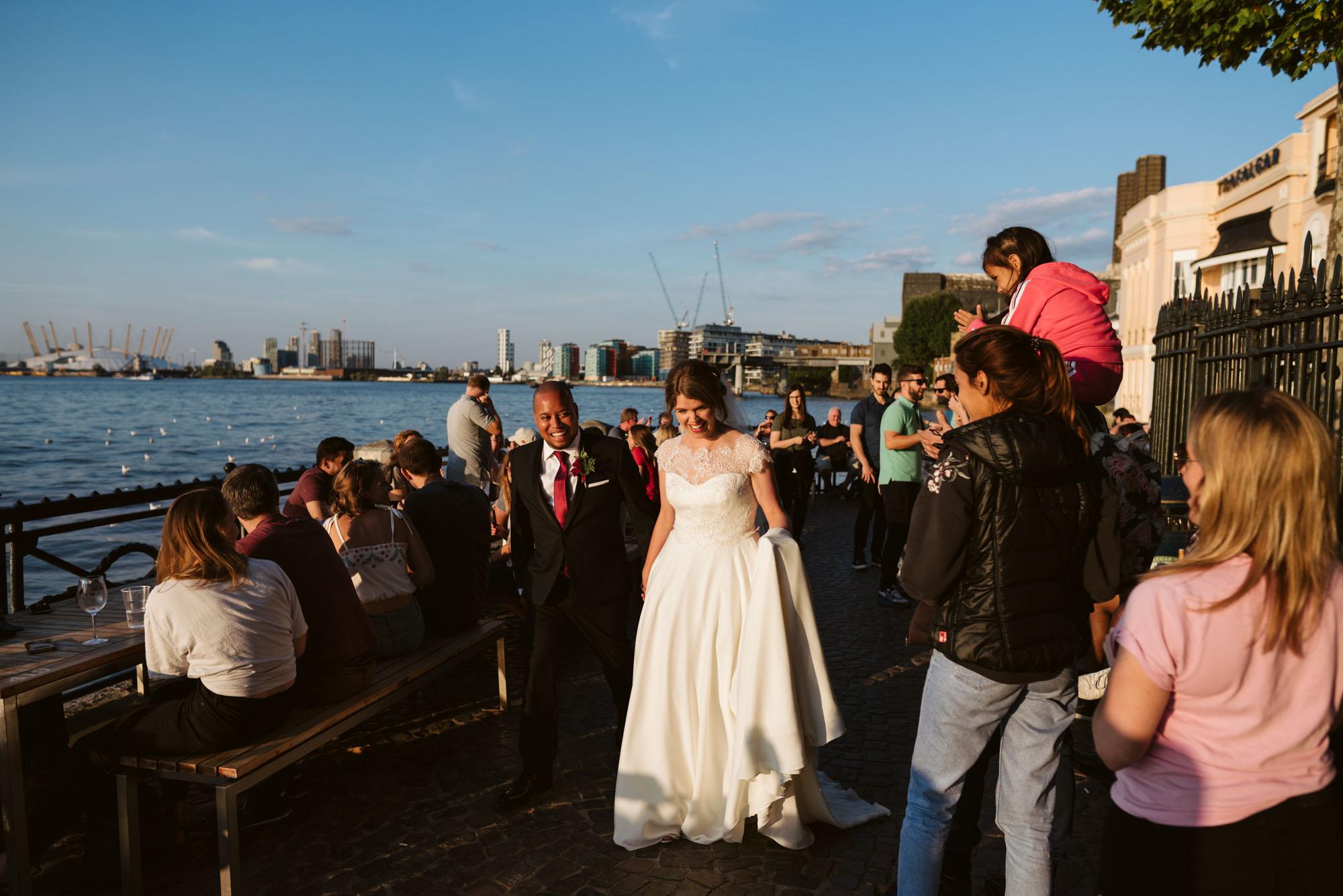 Trafalgar Tavern Wedding Photography