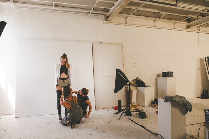 shooting a lookbook & campaign with the beautiful yani botha. our pictures will be released early next year!