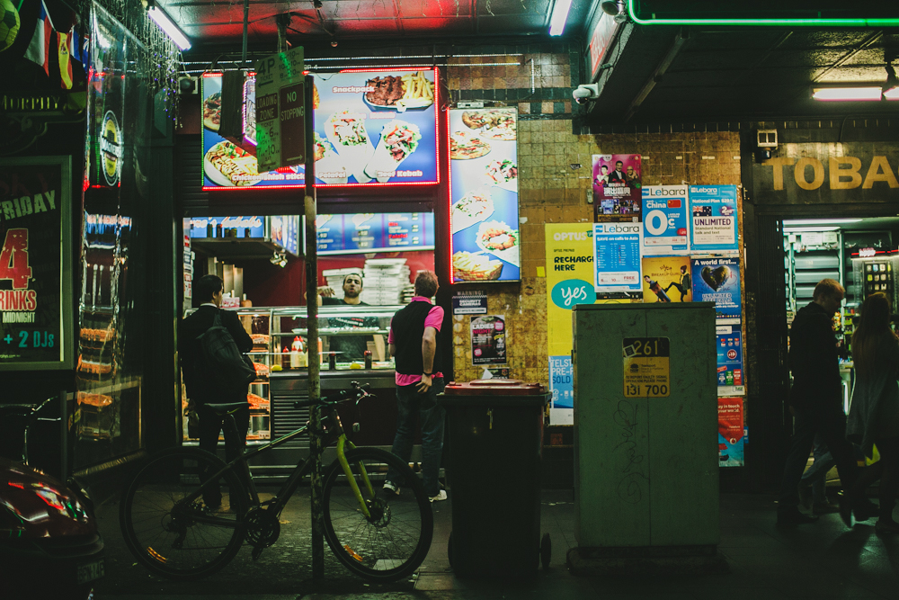 documenting the city at night with dan.