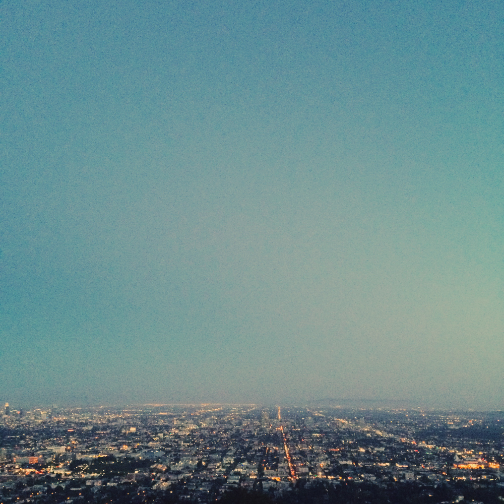 The view from Griffith Observatory.