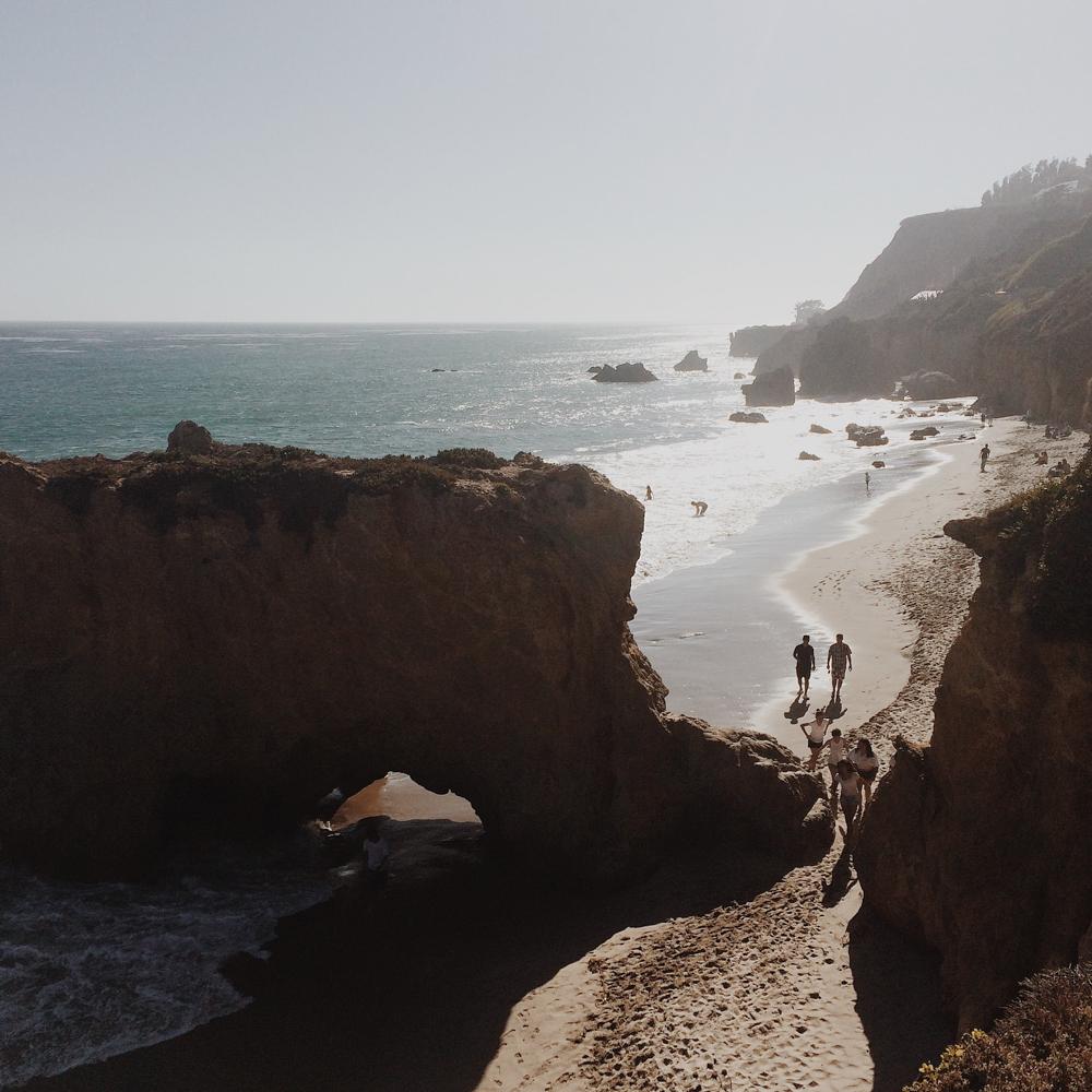 El Matador State Beach, Malibu.