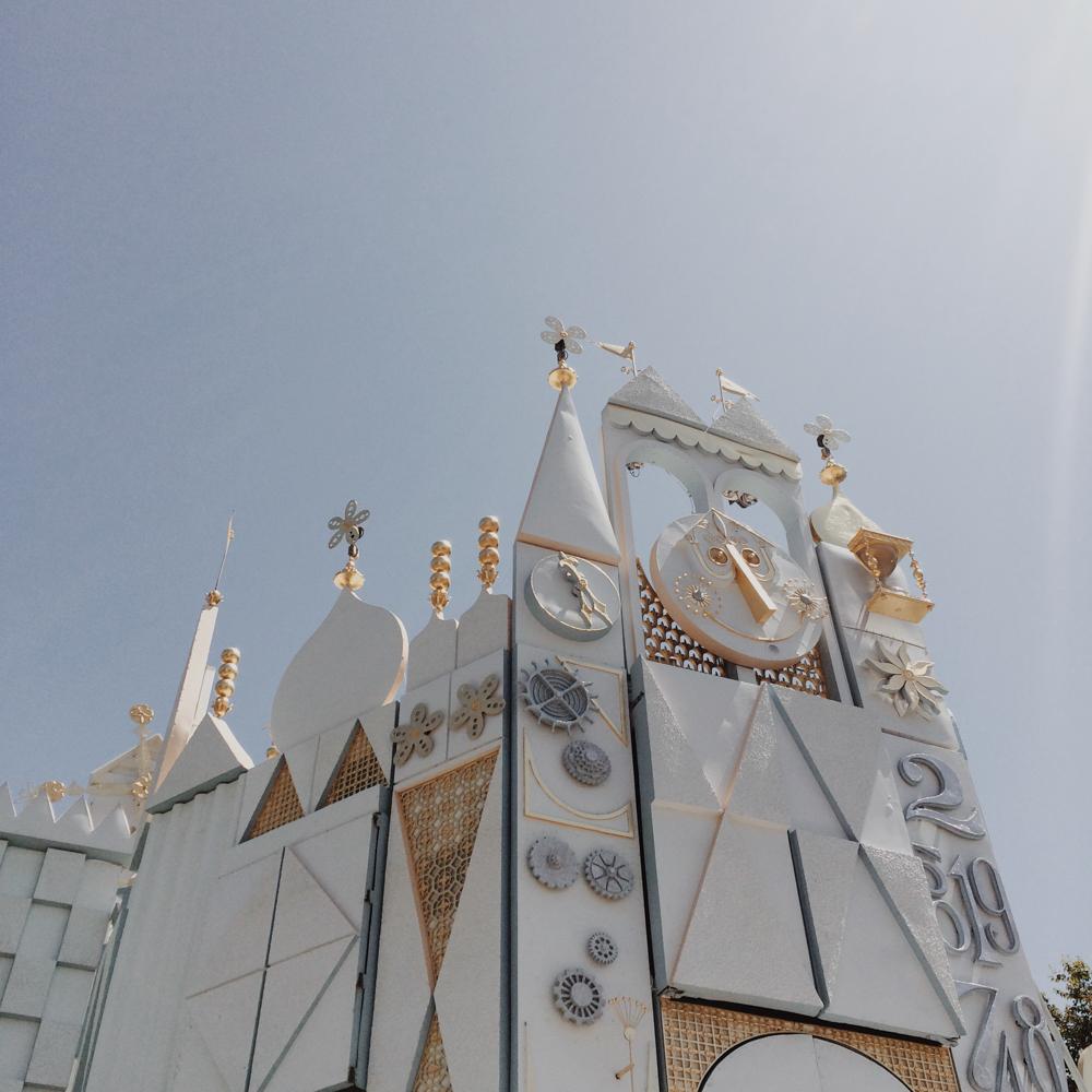 A whole new world ride at Disneyland.