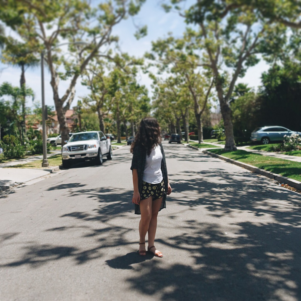 The beautiful streets of Beverly Hills, it looked like a scene straight out of a television show.