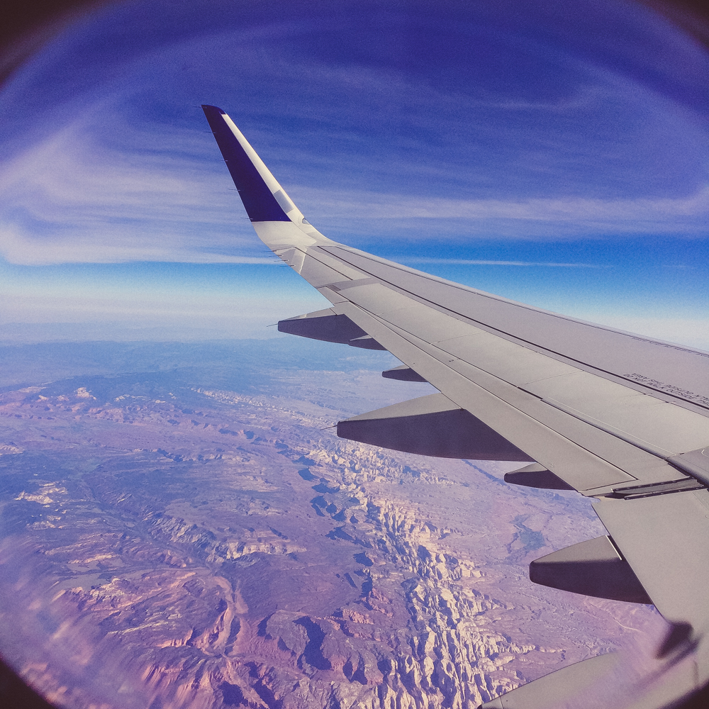 Flying from LA > New York