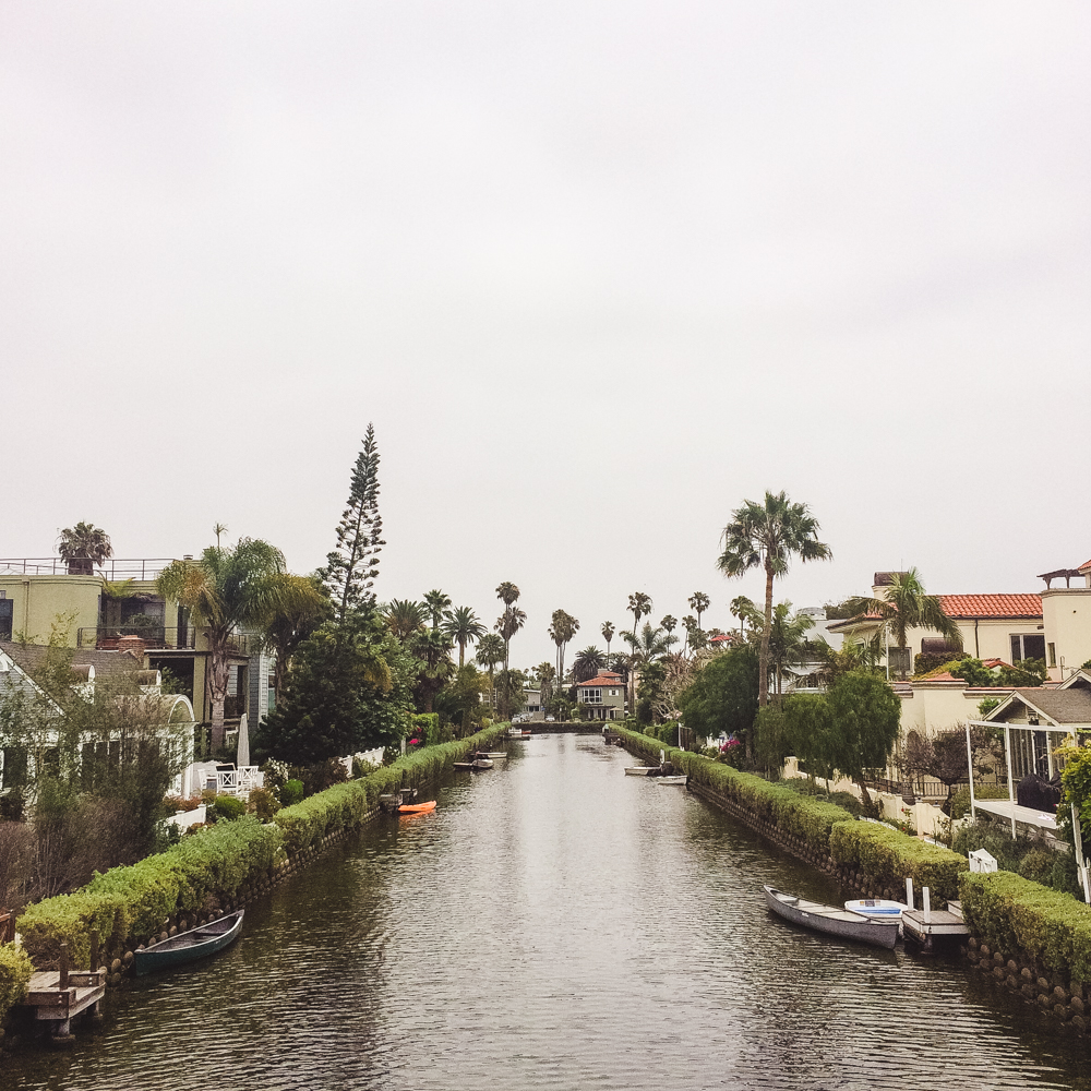 The Venice Canals.