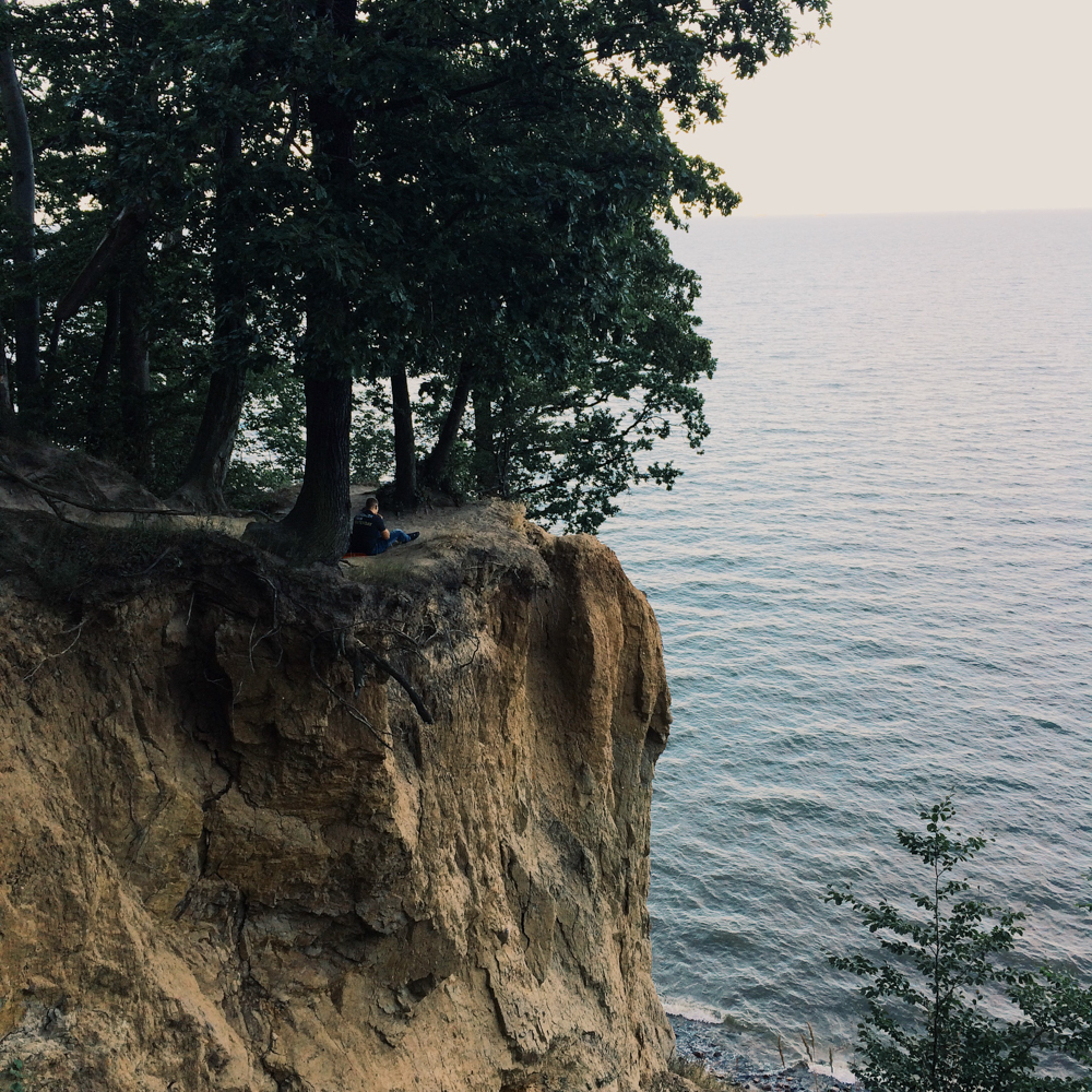 Exploring the Orłowski cliffs