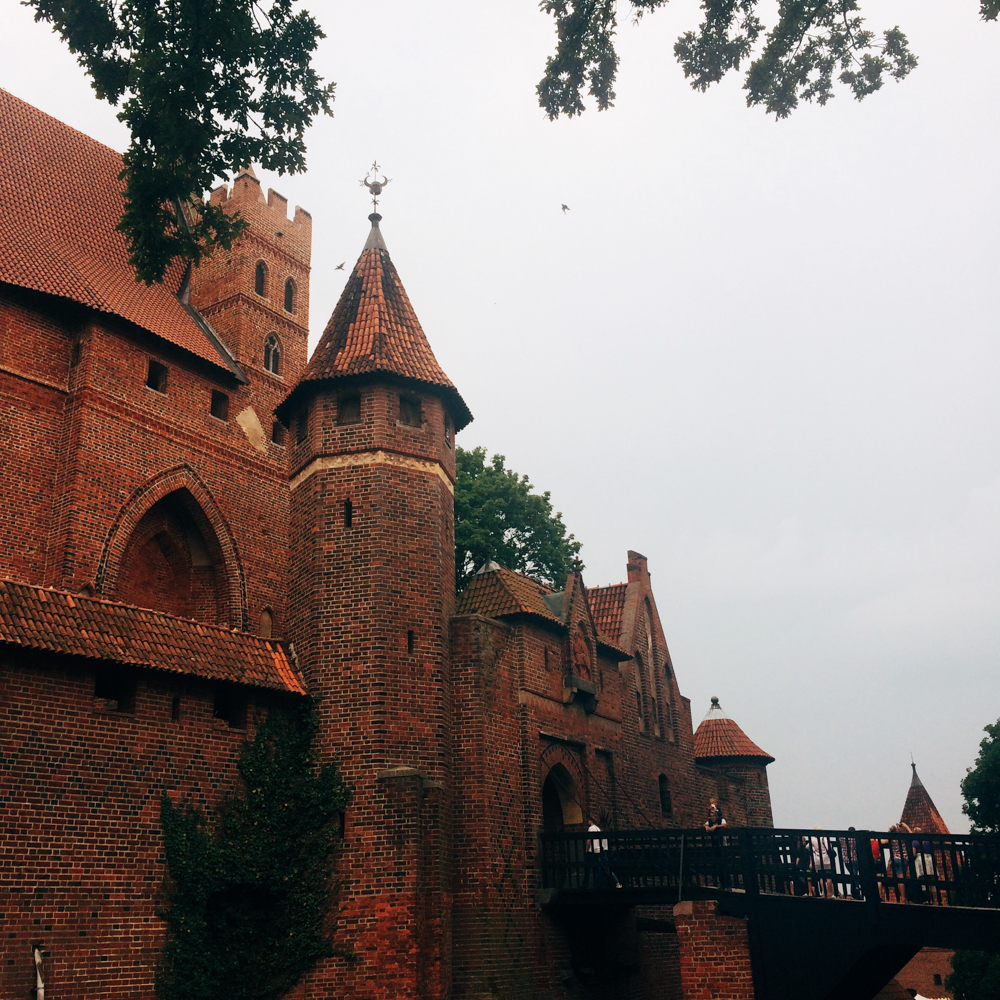 Visiting Malbork Castle.