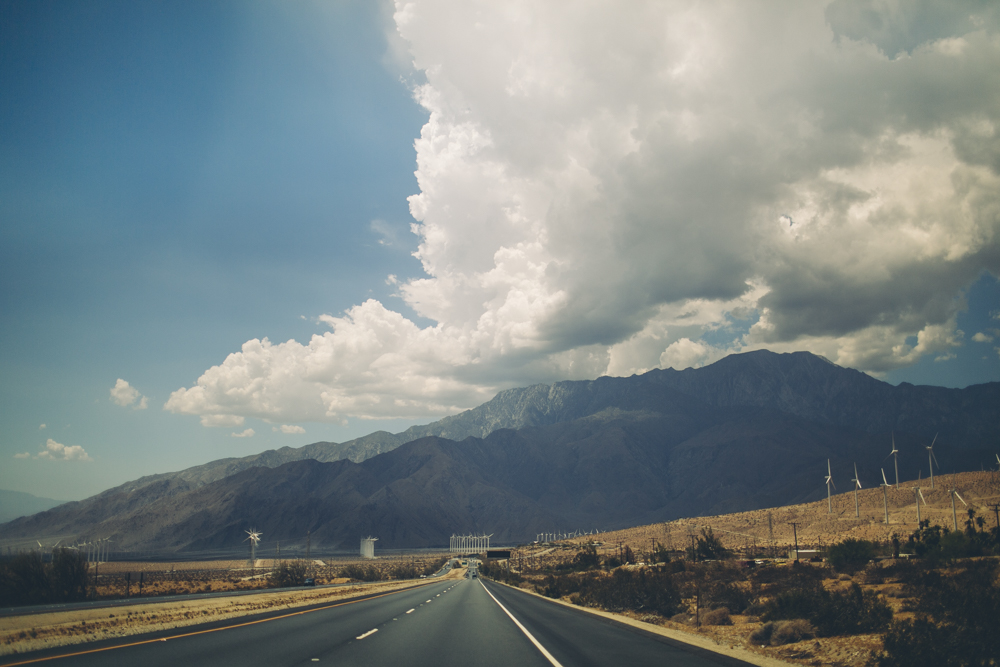 The drive from Los Angeles to Joshua Tree.