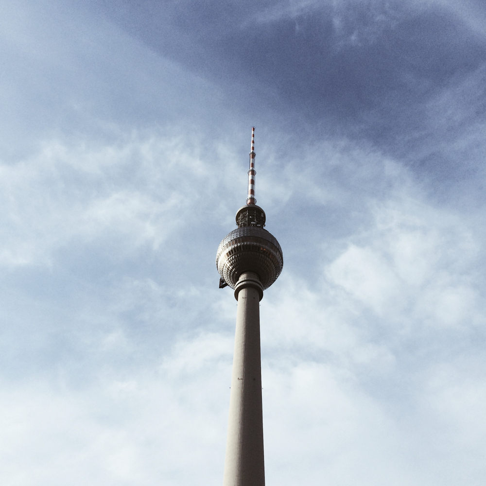 The Berlin TV Tower.